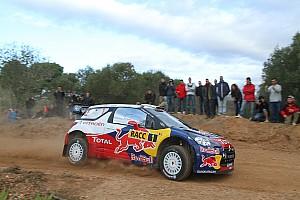 WRC Citroen  Rally de España leg 1 summary