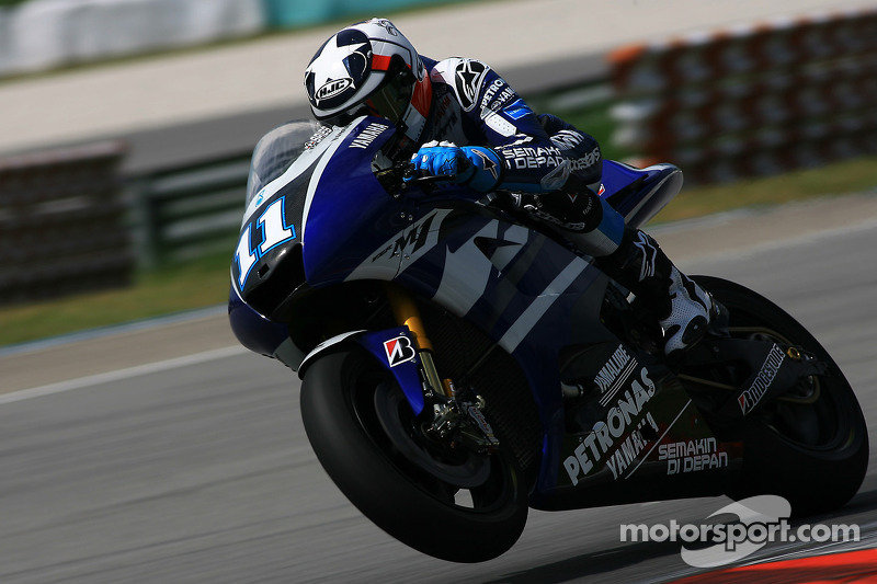 Yamaha Malaysian GP qualifying report