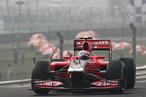 Formula 1 Marussia Virgin Indian GP qualifying report