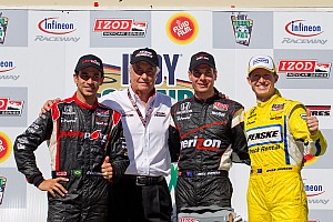 IndyCar Team Penske drivers return for 2012 season