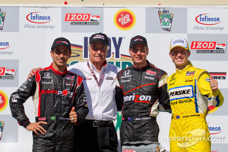 Team Penske drivers return for 2012 season