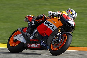 MotoGP Pedrosa tops the charts over two-day 1000cc test in Valencia