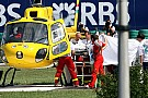 Two drivers not using safer visors after Massa injury