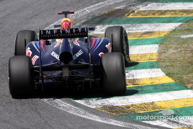 Red Bull Brazilian GP Friday practice report