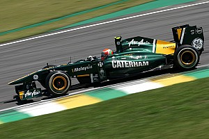 Formula 1 Team Lotus Brazilian GP race report