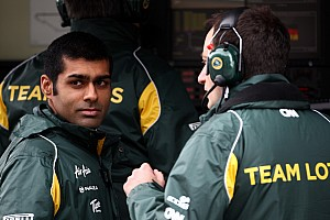 Formula 1 Chandhok may switch team for 2012 'Friday' role