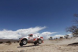 Dakar Team Imperial Toyota stage 5 report