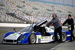 Grand-Am Daytona Int'l Speedway January test notes, day 1