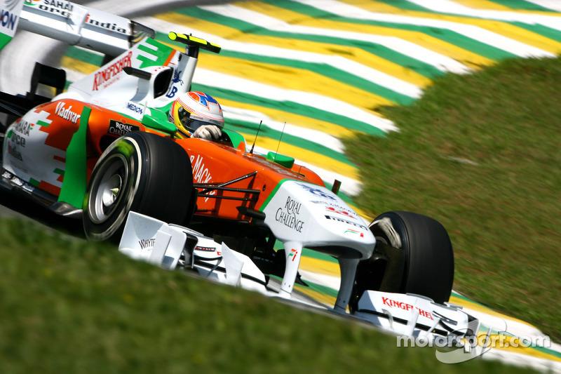 2012 Force India passes FIA crash tests