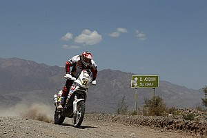 Dakar Aprilia Racing stage 8 report