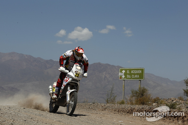 Aprilia Racing stage 8 report