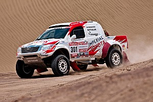 Dakar Toyota stage 10 report