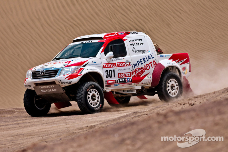 Toyota stage 10 report