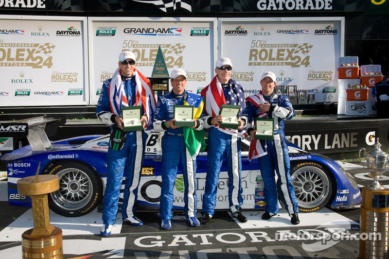 Daytona 24H winning DP team press conference