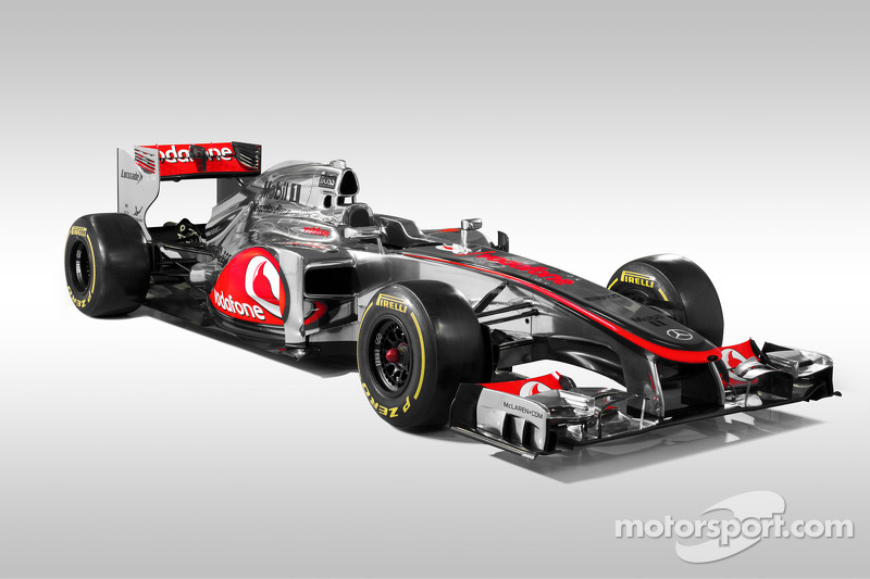 McLaren unveils MP4-27 with the hope for 2012 championship