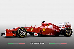Formula 1 Despite the snow, Ferrari shows off new F2012
