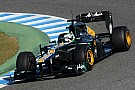 Caterham Jerez test day 1 report