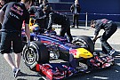 Red Bull 'letterbox' slot for driver cooling - Newey