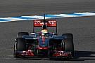 McLaren Barcelona testing -  Day 1 report