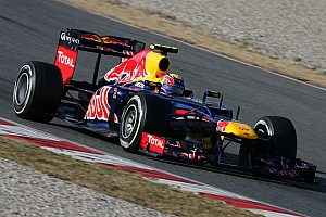 Formula 1 Red Bull Barcelona testing -  Day 4 report