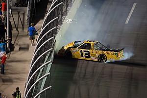 NASCAR Truck Johnny Sauter has good run at Daytona spoiled