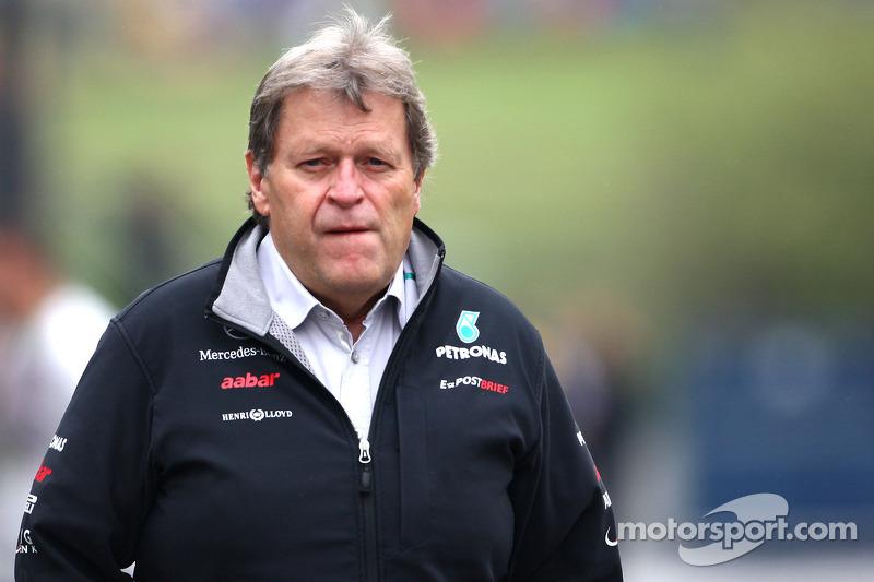 Mercedes not expecting title tilt until 2014