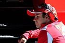 Felipe Massa charges his batteries in Sao Paulo