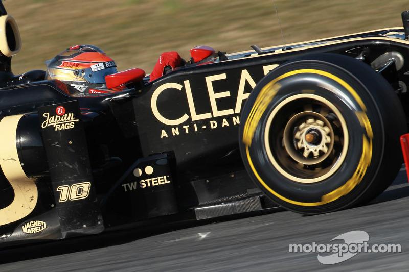 Lotus Australian GP - Melbourne Friday practice report