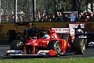 Ferrari glass 'half full' but no improvement yet