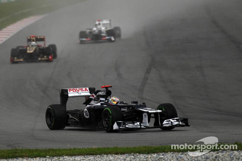 Williams Malaysian GP - Sepang race report