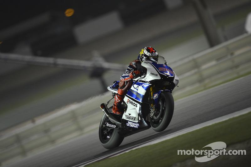 Lorenzo leads the way at Qatar