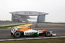 Force India Chinese GP - Shanghai Friday report