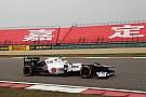 Sauber Chinese GP - Shanghai qualifying report