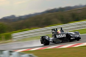 Le Mans Nissan DeltaWing kicks off Euro testing with wet test