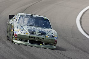 NASCAR Cup Johnson, Team Chevy drivers talk about Kansas race