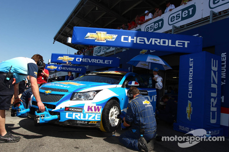 Chevrolet heads to Hungary with great confidence