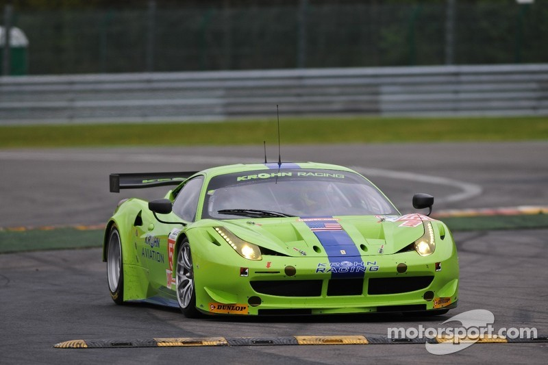 Krohn Racing 6 Hours of Spa qualifying report