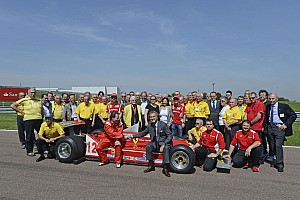 Formula 1 Villeneuve remembered on track at Fiorano