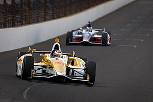 IndyCar Chevrolet Racing Indy 500 practice 3 report