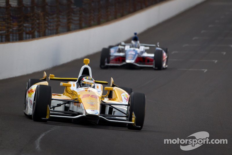 Chevrolet Racing Indy 500 practice 3 report