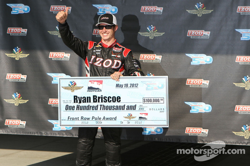 Fourth lap proves key to Briscoe's Indy 500 Pole