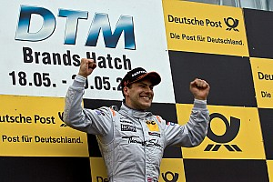 DTM Paffett adds to points lead with homeland win at Brands Hatch