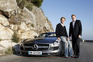 Formula 1 Mercedes - A Monaco story: When Nico met Mika