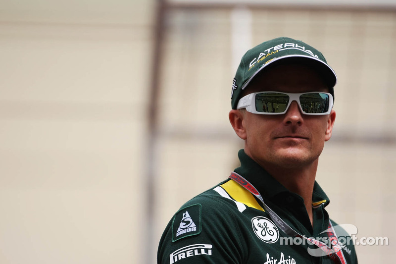 Kovalainen admits disappointment with Caterham progress