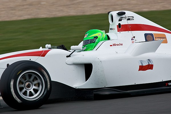 F2 Kevin Mirocha shines in second practice in Nurburgring