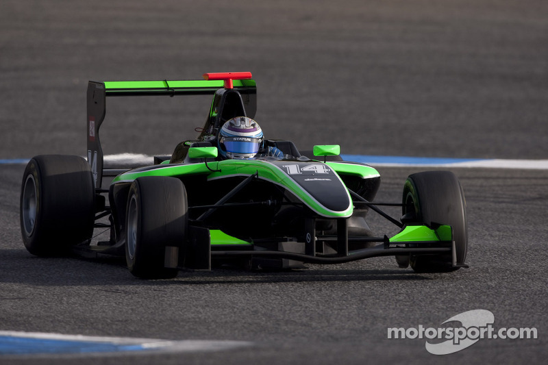Stockinger storms to first win at Monaco