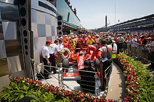 IndyCar Franchitti claims third 500 win in Honda 1-2 finish