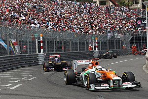 Formula 1 Two points-paying finishes bolster Force India spirits