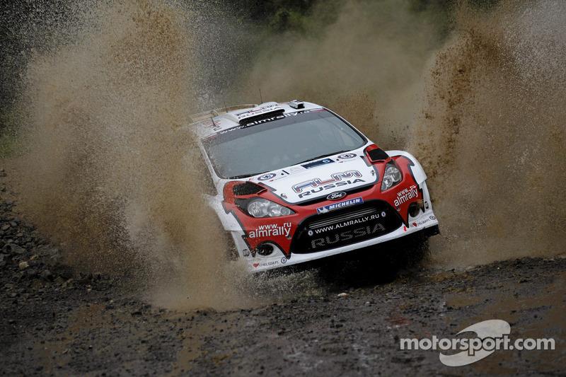 Strong start for M-Sport's Novikov in Acropolis Rally