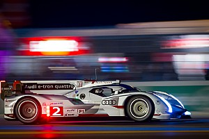 Le Mans Race becomes an Audi fight as dawn breaks